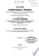 Estudios anatómico-patológico y terapéuticos sobre las enfermedades de los órganos génito-urinarios considerados especialmente en los viejos