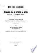 Estudios araucanos