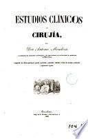 Estudios clínicos de cirujía