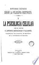 Estudios críticos sobre la filosofía positivista