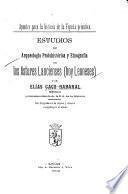 Estudios de arqueología protohistórica y etnografía de los Astures Lancienses (hoy Leoneses)