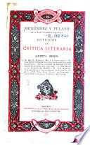 Estudios de crítica literaria