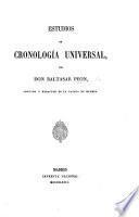 Estudios de cronología universal