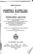 Estudios de fonétika kastelana