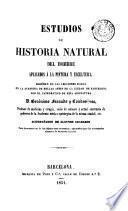 Estudios de historia natural del hombre aplicados á la pintura y escultura