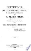 Estudios de las alienaciones mentales en su relacion con la medicina legal, por Francisco Bonucci