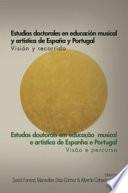 Estudios doctorales en educación musical y artística de España y Portugal