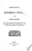 Estudios económicos i fiscales