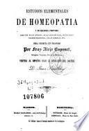 Estudios elementales de homeopatia