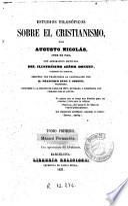 Estudios filosóficos sobre el cristianismo ..., 1