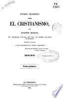 Estudios filosóficos sobre el cristianismo: (XX, 388 p.)
