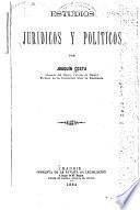 ESTUDIOS JURIDICOS Y POLTICOS