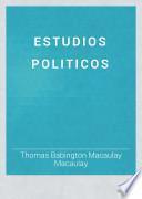 Estudios políticos
