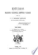 Estudios religiosos, filosóficos, científicos y sociales