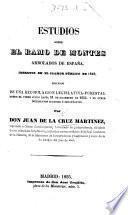 Estudios sobre el ramo de montes arbolados de España insertos en el clamor público de 1845