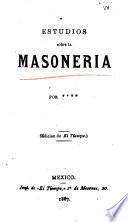 Estudios sobre la masoneria