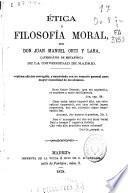 Etica ó Filosofía moral
