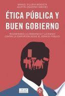 Ética pública y buen gobierno