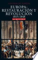 Europa: Restauración y revolución
