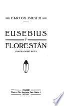 Eusebius y Florestán Cartas sobre arte