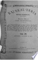 Euskel-erria, fundador y director J. Manterola