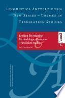Evaluation of Translation Technology