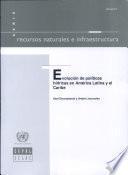 Evolución de políticas hídricas en América Latina y el Caribe