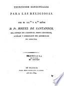 Exercicios espirituales para las Religiosas