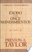 Éxodo y los once mandamientos