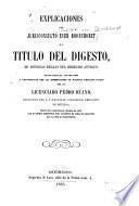Explicaciones del jurisconsulto Ever Bronchorst al titulo del Digesto De diversas reglas del derecho antiguo