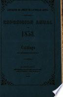 Exposición anual de 1853