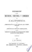 Exposición de los recursos, industria y comercio de California