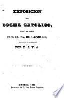 Exposición del Dogma Católico