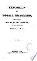 Exposición del dogma católico por--- versio hispanica