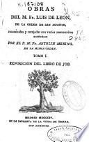 Exposicion del Libro de Job (XXVIII, 514 p.)