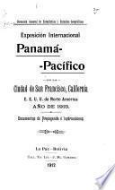 Exposición internacional panamá-pacifico en la ciudad de San Francisco, California, E.E.U.U. de Norte América, año de 1915