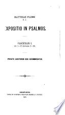 Expositio in psalmos