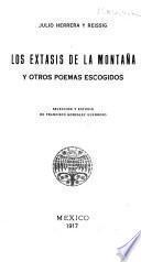 Extasis de la montana y otros poemas escogidos