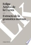 Extracto de la gramática mutsun