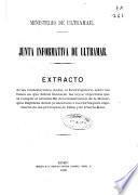 Extracto de las contestaciones dadas al interrogatorio sobre las bases en que deban fundarse las leyes especiales que al cumplir el artículo 80 de la Constitución de la Monarquía Española deben presentarse á las Cortes para el gobierno de las provincias de Cuba y de Puerto-Rico