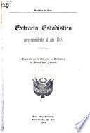 Extracto estadístico del Perú ...