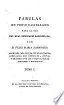 Fabulas en Verso Castellano para el uso del Real Seminario Bascongado,
