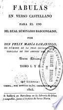Fabulas en verso castellano para el uso del Real Seminario Bascongado