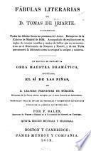 Fábulas literarias de D. Tomas de Iriarte