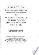 Fama postuma a la vida y muerte del Doctor Frey Lope Felix de Vega Carpio