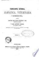 Farmacopea general alopática y homeopática