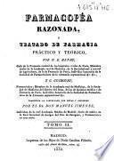 Farmacopéa razonada ó Tratado de farmacia práctico y teórico