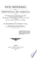 Fauna ornitológica de la Provincia de Gerona