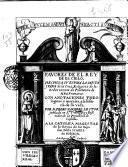 Fauores de el rey de el cielo, hechos a su esposa la santa Juana de la Cruz religiosa ... con anotaciones theologicas y morales, a la historia de su vida. Por fr. Pedro Nauarro ..