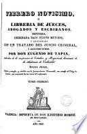 Febrero novisimo ó, Librería de jueces, abogados y escribanos, 1